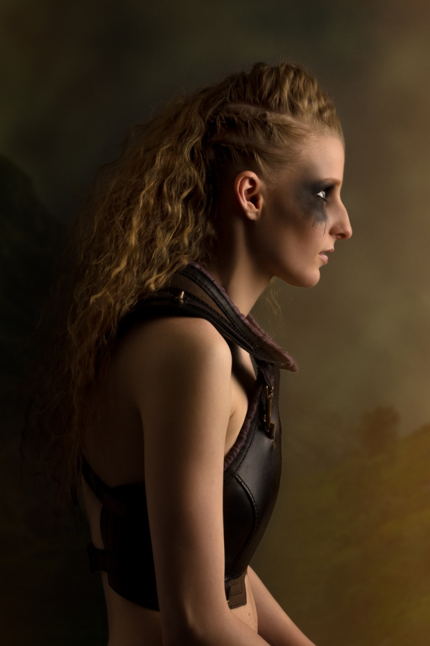 Fine art portraiture inspired by Viking culture.