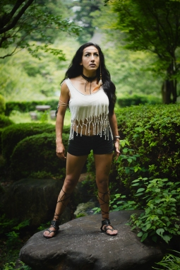Maritza Mari Native American Inspired Portrait Session
