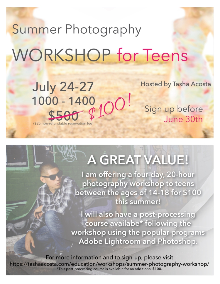 SummerTeenWorkshopFlyer-01